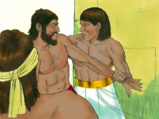 """He said to the one who was in the wrong, don't fight because we're the same people. The man said, """"Will you kill me like you did the Egyptian."""""""