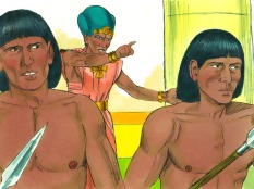 Moses realized his deed was discovered. Pharaoh attempted to kill him but he escaped by fleeing to Midian.