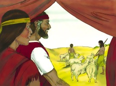 """Moses and Zipporah had a son whom Moses named Gershom because he said, """"God has made me a foreigner in a foreign land."""""""
